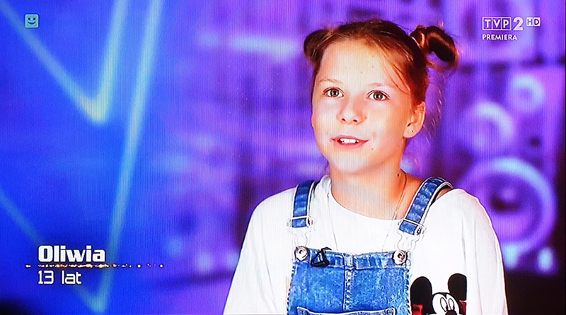 Oliwia Walicka The Voice Kids 2